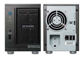 Netgear ReadyNAS Duo RND2000 V2 Network Attached Storage system.