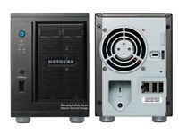 Netgear ReadyNAS Duo RND2000 V2 Network Attached Storage system.