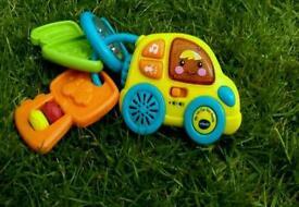 Vtech baby car keys toy