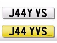 Personalised private registration number plate jay jason jayson jason james jamie. j44y j4y