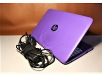 "HP Stream 11"" Purple Laptop"