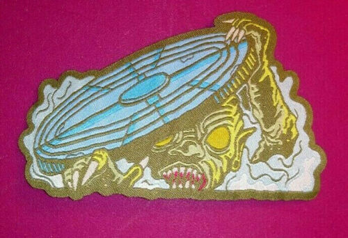 PATCH C.H.U.D. HORROR Woven - CHUD - Cannibalistic Humanoid Underground Dwellers