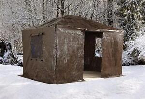 Toile Hivernale pour Gazebo 10x10, 10x12