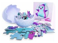 Hatchimal Egg Puzzle - 48-piece jigsaw puzzle in an Egg - Cute Penguella Excellent Condition