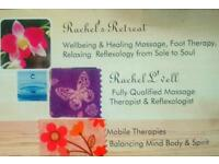 Aromatherapy Massage & Reflexology Treatments