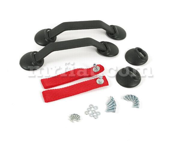 For Porsche 911 964 993 Rs Red Strap Door Handle Kit New