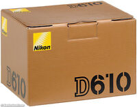 Nikon D610 brand new in  the box