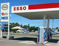 Cashier Position at ESSO Gas Bar