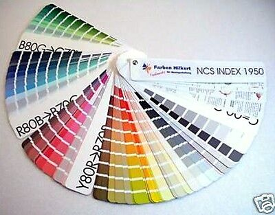 NCS INDEX 1950 Farbfächer Farbkarte 1950 Farbmuster 1950 Farbtöne Hardcover