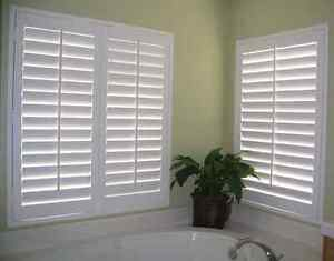 Custom Blinds, Shades, Shutters and Drapes Installed.