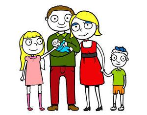 De tout pour la famille :  vêtements, manteaux, literie, etc.