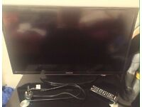 Samsung TV with glass stand £130