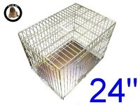 NEW Gold Ellie-Bo Deluxe Top Quality Puppy / Small Dog Cage Crate