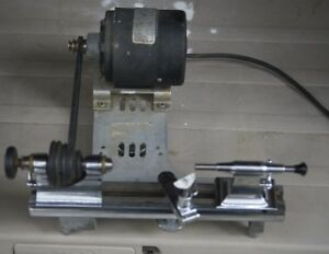 PEERLESS 8mm PRECISION METAL LATHE MADE IN THE USA
