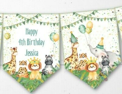 alised Party Bunting/Banner & Ribbon - Any Occasion (Ribbon Banner)