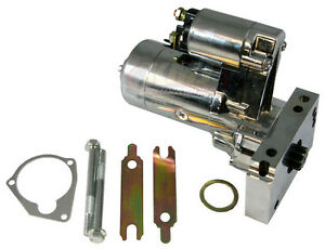 Small-Big-Block-Chevy-SBC-BBC-305-350-454-Chrome-3hp-High-Torque-Mini-Starter