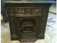 Antique william morris fireplace