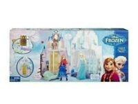 Disney Frozen Castle + Pin Board Game + 6 Puzzle sets total 14 puzzles + WOODEN TOYS for sale  Livingston, West Lothian