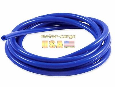 "3MM/0.12""ID Blue FULL SILICONE FUEL/AIR VACUUM HOSE/LINE/PIPE/TUBE BY FOOT/FEET"