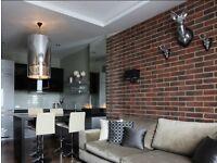 Brick effect wall tilles