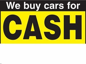 WE PAY TOP $$$ FOR YOUR CARS, TRUCKS AND SUV'S RUNNING OR  NOT