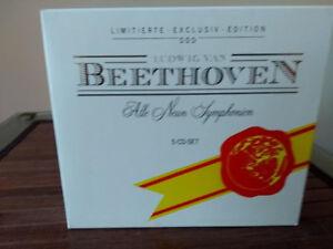 BEETHOVEN COFFRET DES 9 SYMPHONIES EN 5 CD