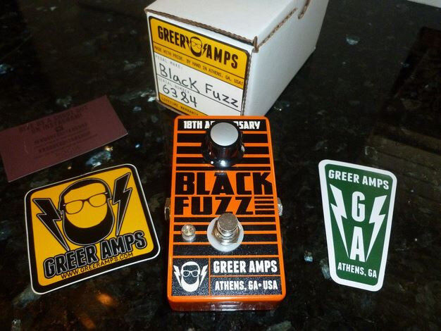 Greer Black Fuzz boutique effects pedal (boxed and un-used)