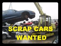 WANTED SCRAP CARS VANS 4X4 SCOOTERS IN NORTH LONDON NON RUNNERS CASH PAID SAMEDAY COLLECTION