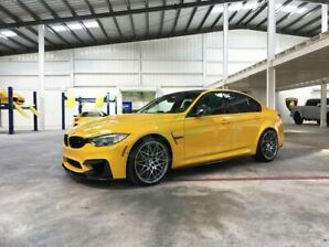 BMW 2018 M3 Competition Package