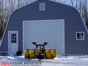 REDUCED // All Steel Garage / shop building package