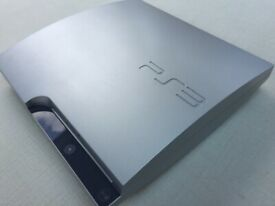 PS3 (PlayStation 3) Slim Console, 320GB, Silver + Controller