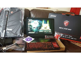 MSI GT80 TITAN Gaming Laptop NVIDIA GTX 980M SLi £1500 WILL NOT SEE IT THIS CHEAP PRICE ANYWARE
