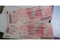 REDUCED!! 2 x Justin Bieber tickets for PARIS on 20/09/2016