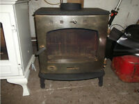 Carron 7 kW Antique Finish Multi Fuel Wood Burning Stove