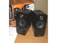 Creative Inspire T10 BasXPort Multimedia PC/MAC & Mp3 Speakers Very good sound