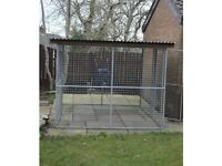Dog Run 8ft x8ft with roof