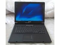 asus x58l dual core laptop. windows7