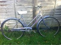 City bicycle Raleigh Caprice from 70's