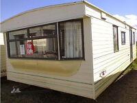 Static Caravan, 25 x 12 ft / 2 Bedrooms, Electric Heating