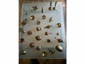 Miniature Brass Collectibles.