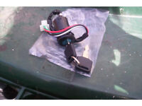 universal motorbike ignition switch assembly with two keys