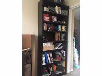 IKEA Billy bookcase/bookshelf - black/brown - 202 x 80cm