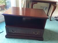 Dark Wood Furniture - Card Table,TV Unit, HiFi Unit