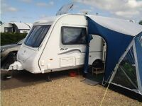 Sunnkamp Swift 260 Deluxe Porch Awning INCLUDING CARPET