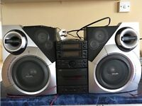 Jvc Micro component hifi with speakers £60 or Offers.