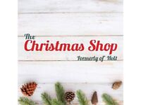 Online Christmas Shop Business, including All Stock & Marketing Platforms