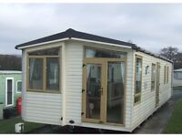 Abi St David static caravan (36x12ft) for sale in Forest of Pendle leisure park, Roughlee, Lancs