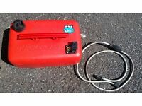 25 LTR BOAT FUEL TANK WITH MERCURY / MARINER FUEL LINE