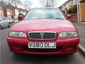 ROVER 620 SLi AUTOMATIC V REG 2 PRIVATE OWNERS SEPTEMBER MOT 102K