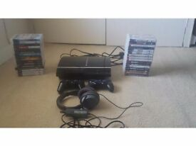 PlayStation 3 60GB Ltd Edition with 32 games and accessories bundle
